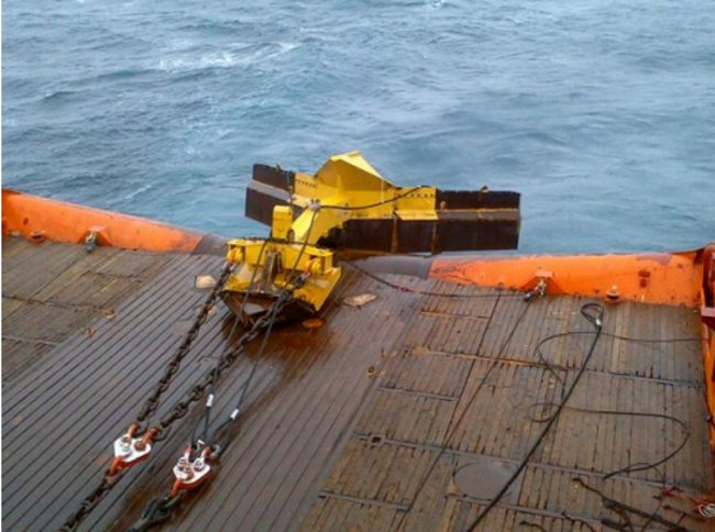 Subsea Trenching System: SCAR 2 - Cable Lay