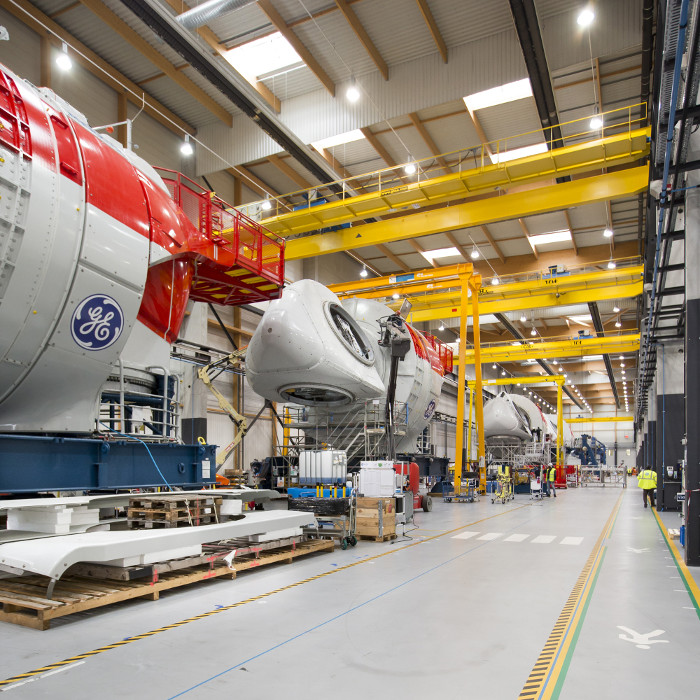 GE kicks of fabrication for French project