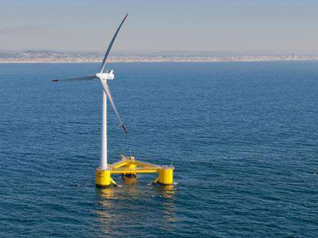 First power for WindFloat Atlantic