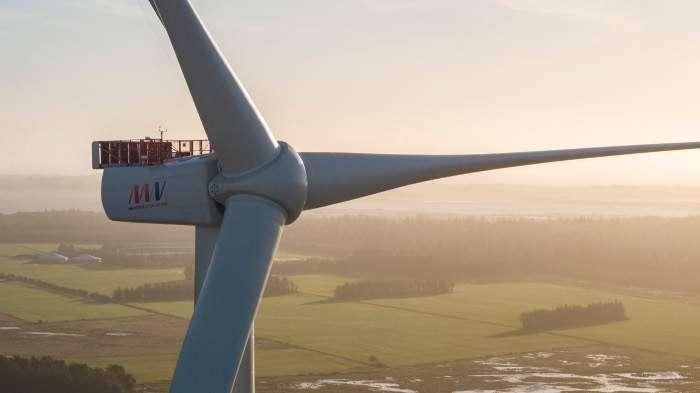 MHI Vestas installs V174-9.5 MW prototype