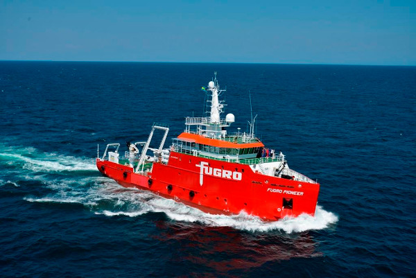 Offshore wind lifts Fugro