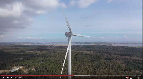 SGRE 11 MW giant spins in Østerild