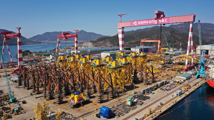 Changhua jackets near fabrication completion