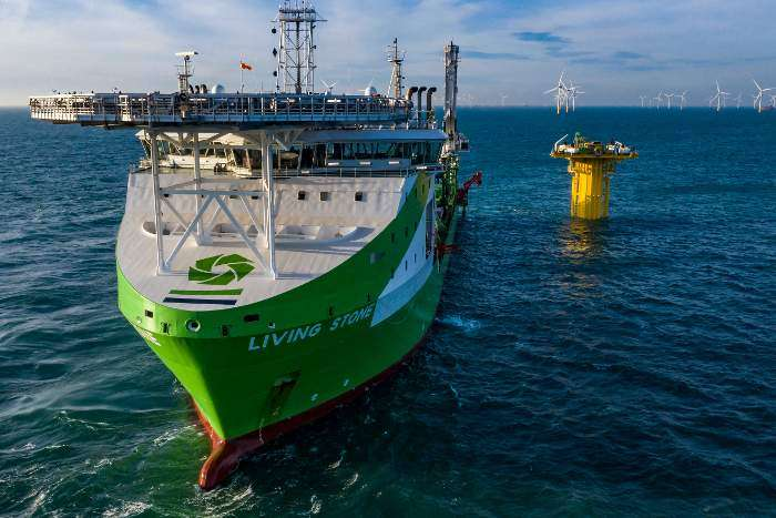DEME Offshore completes SeaMade array cable works