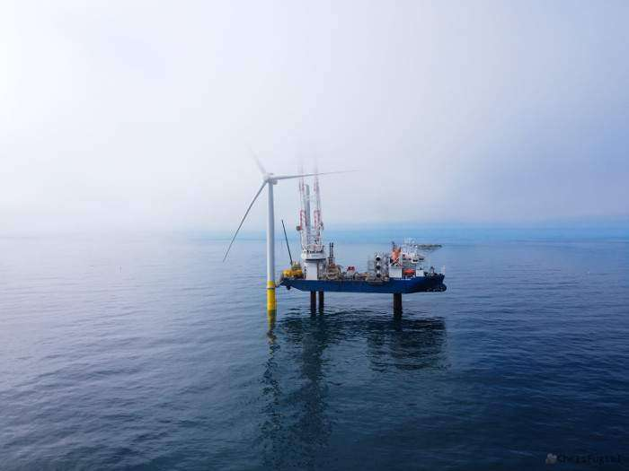 Jan De Nul vessel depart Coastal Virginia Offshore Wind