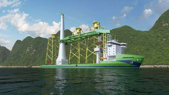 Huisman to deliver crane for Green Jade