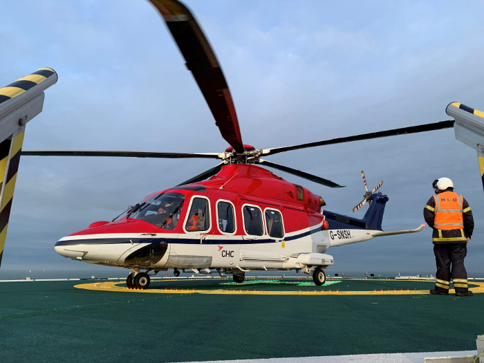 CHC Helicopter to provide Hornsea Two air support