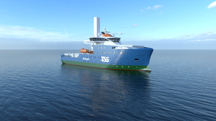 Red Rock to deliver crane for Ørsted