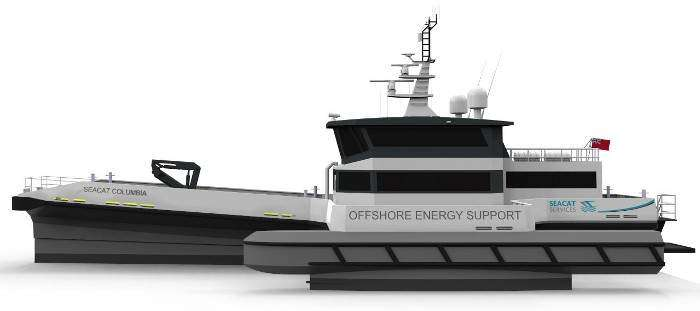"""Seacat Services orders """"greenest CTV on ther market"""""""