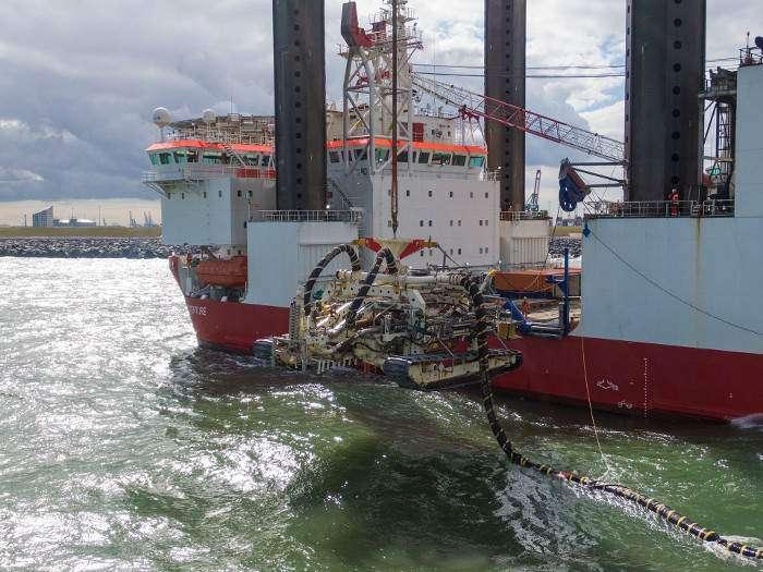 Van Oord to bury Hollandse Kust Zuid cables