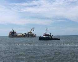 Seacontractors supports Jan De Nul in Taiwan