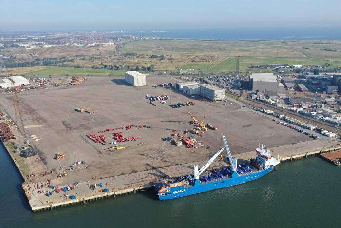 Triton Knoll pre-assembly hub ramps up in Hartlepool