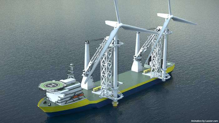 Offshoretronic has a new ADD-ON Installation Support Tower Concept