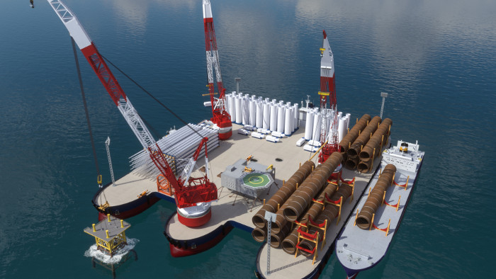 Windthrust unveils floating offshore wind port concept