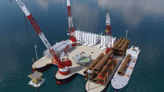 Windthrust unveils floating offshore wind port concept