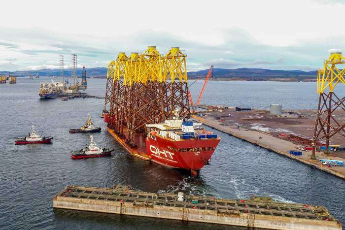 OHT completes jacket transportation for Moray East