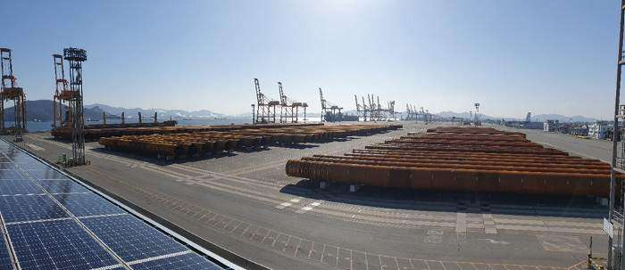 EEW Group delivers pin piles for Greater Changhua 1 & 2a