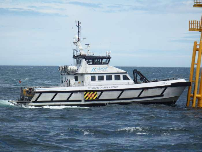 Seacat Services launches new support vessel apprenticeship programme