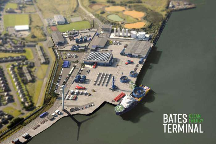Port of Blyth unveils clean energy terminal plans