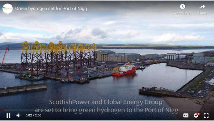 Port of Nigg investigates green hydrogen potential