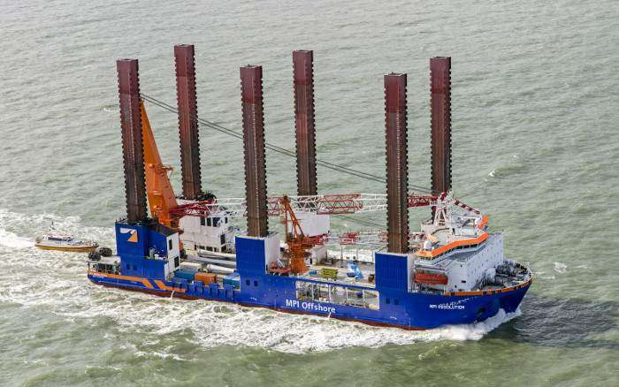Van Oord scores four year contract with Vattenfall