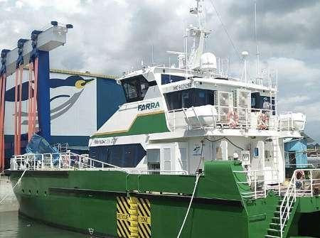 Farra Orla delivered to Farra Marine