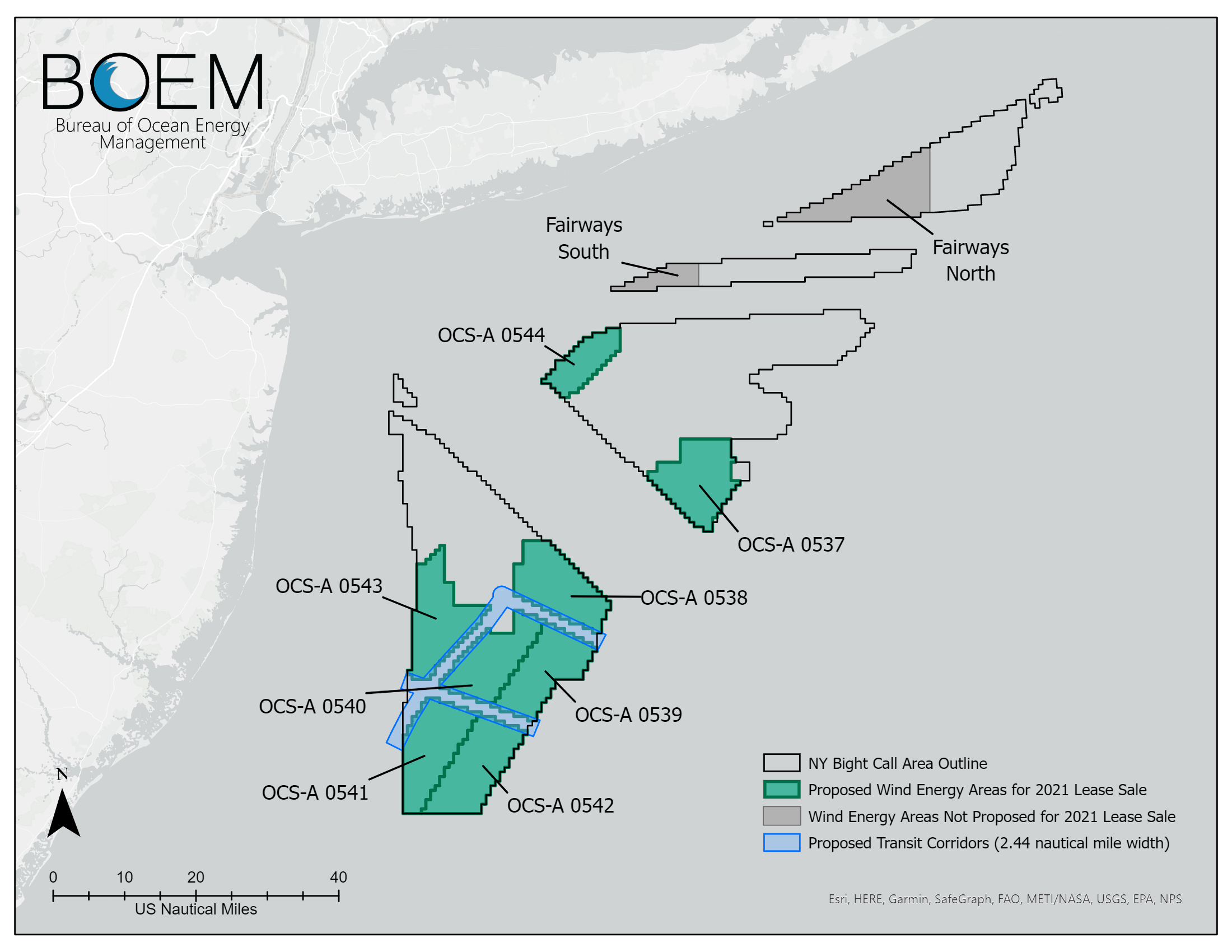 Proposed Sale Notice published: up to 7 GW in the New York Bight