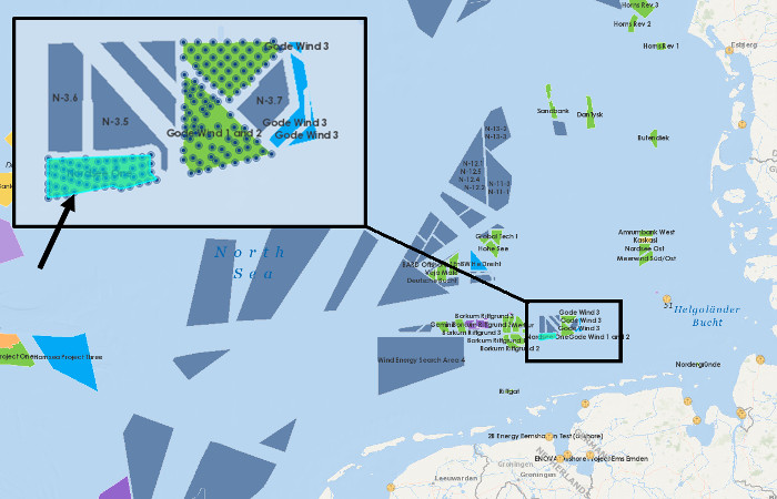 Nordsee One issues component exchange contract