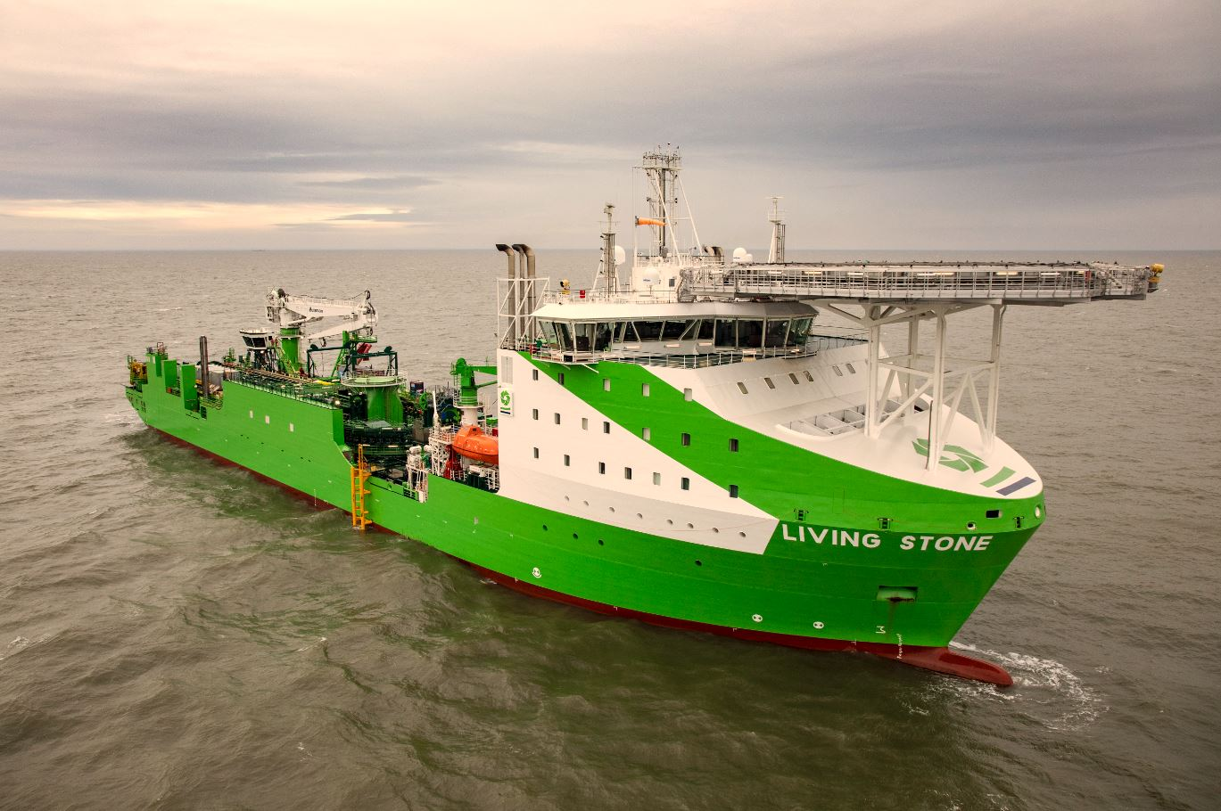 4C Offshore | DEME Offshore lays DolWin6 cable