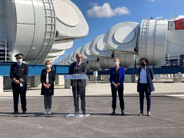 4C Offshore | GE holds inauguration for Saint-Nazaire logistics hub