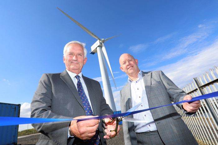 4C Offshore | Port of Blyth opens wind turbine training facility