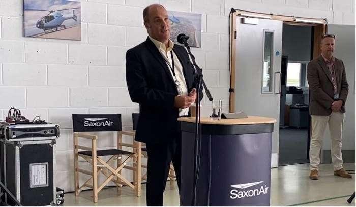 SaxonAir (SaxonAir CEO Alex Durand)