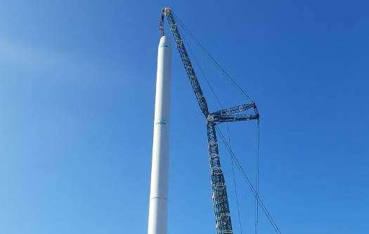 4C Offshore   Siemens Gamesa installing prototype turbine in Oesterild