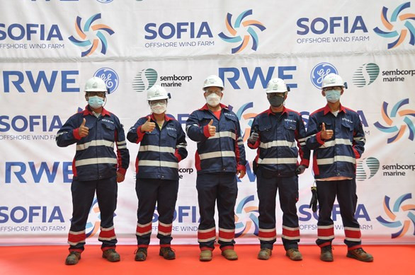 4C Offshore | Construction begins for Sofia substation