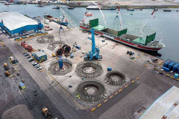 4C Offshore | Port of Blyth celebrates Seagreen contract win