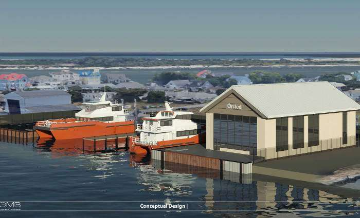 4C Offshore | Ørsted to Build Maryland emissions-free offshore wind base