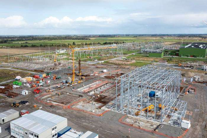 4C Offshore | Foundations laid for DolWin5 onshore converter station