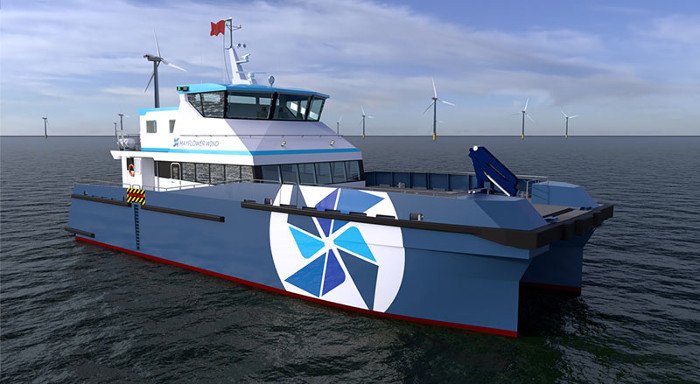 4C Offshore | Mayflower Wind inks agreement with Gladding-Hearn for hybrid CTV