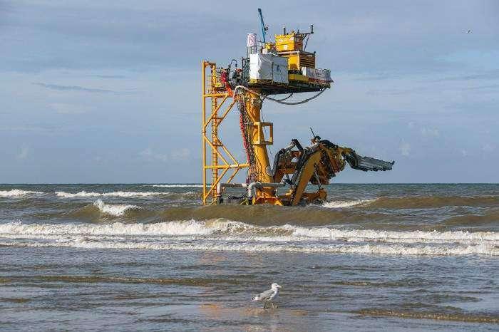 4C Offshore | Jan De Nul completes Luchterduinen reburial works