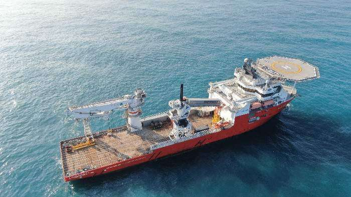4C Offshore | Dong Fang Offshore completes Walk-to-Work vessel conversion