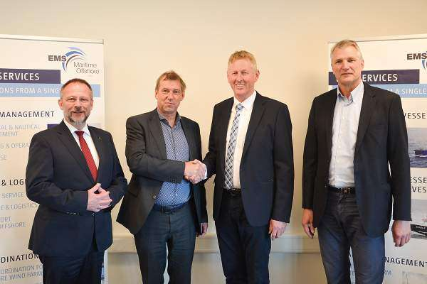 EMO extends Eemshaven base to Merkur