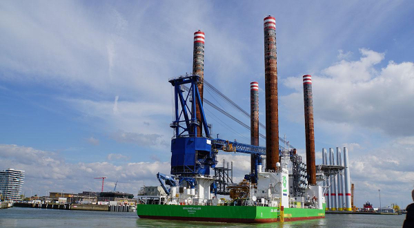 Sea Installer arrives at Port of Ostend