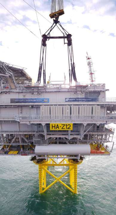 Substation reductions at Hornsea Two
