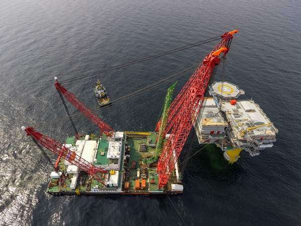 Energinet finishes Baltic platforms