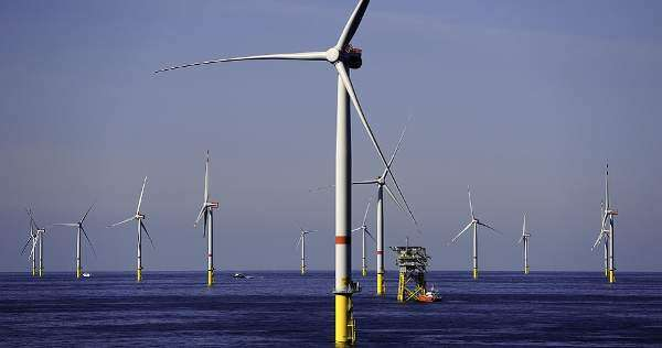 Offshore tours at Gode Wind
