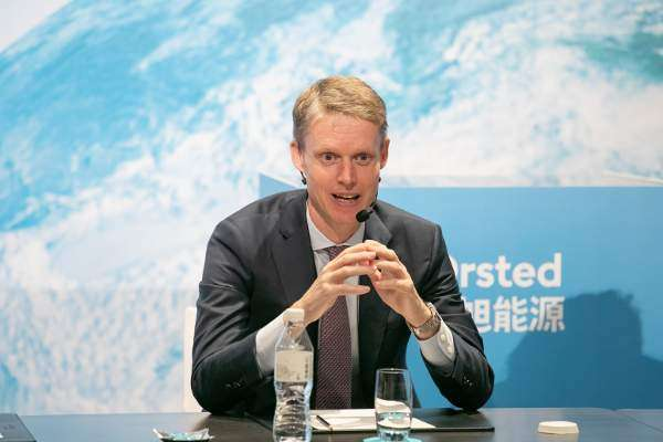Ørsted boss reinforces Taiwan ties