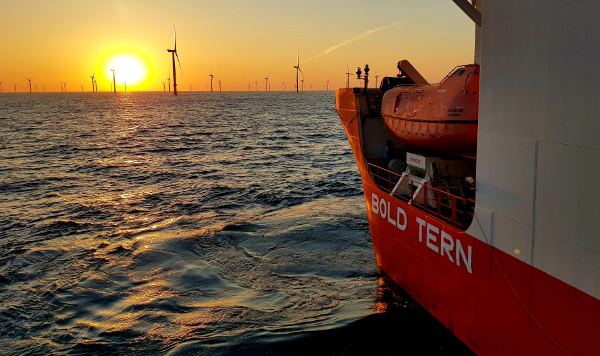 Turbines touch down at Borkum Riffgrund II