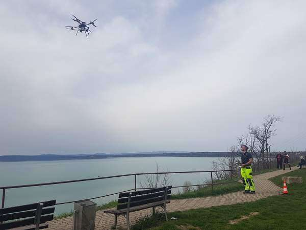 NorSea drones on HVDC platforms