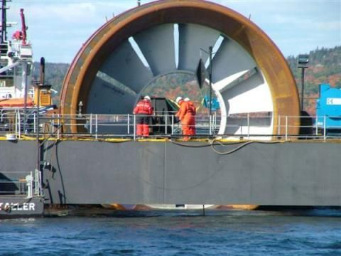 Admirality Inlet Pilot Tidal Project